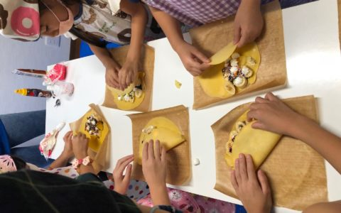 8-22 3 Crepe Making